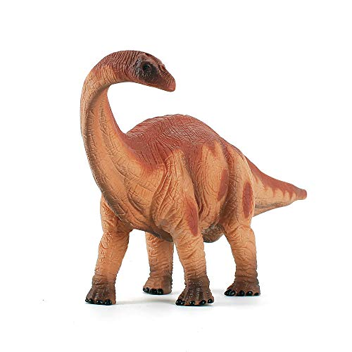 Fantarea Educational Dinosaur Toys Apatosaurus Figure - Kids Realistic Toy Dinosaur Figures for Cool Kids and Toddler Education (Brontosaurus-Yellow)