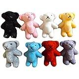 """5 ou 10 taille s minuscule feutre miniature de poupée maison craft nounours ours 1/12th échelle divers couleurs 1.4"""" grand - par Fat-catz-copy-catz"""