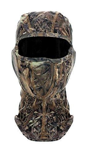 Striker Blind Forest Camouflage Hunting Balaclava Face Mask - Camo (Balaclava Spandex Crown)