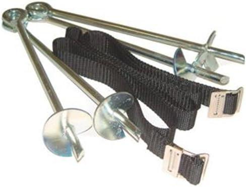 Heavy Duty Kit de pinzas de anclaje galvanizado cama elástica ...