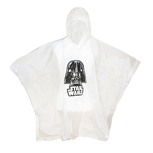 Star Wars Darth Vader Hooded Rain Poncho (Disney Jackets)