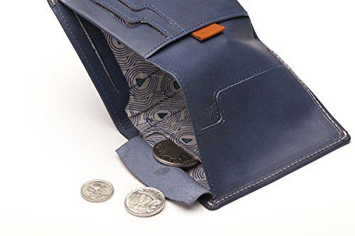 Black Bellroy Version Sleeve Old Wallet Leather Note Steel Blue gq7OAH