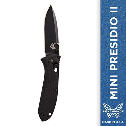Benchmade - Mini Presidio II 575 Knife, Plain Drop-point, Coated Finish ()