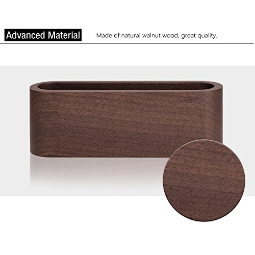 Maxgear Wood Business Card Holder For Desk Business Card Case For