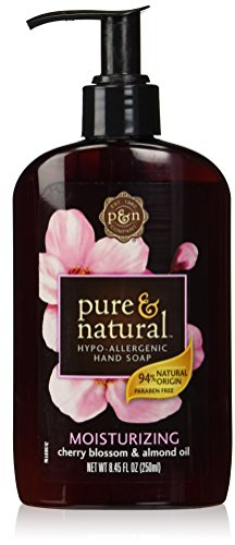 Pure and Natural Liquid Hand Soap, Cherry Blossom and Almond, 8.45 Ounce (Dial Cherry Almond Soap compare prices)