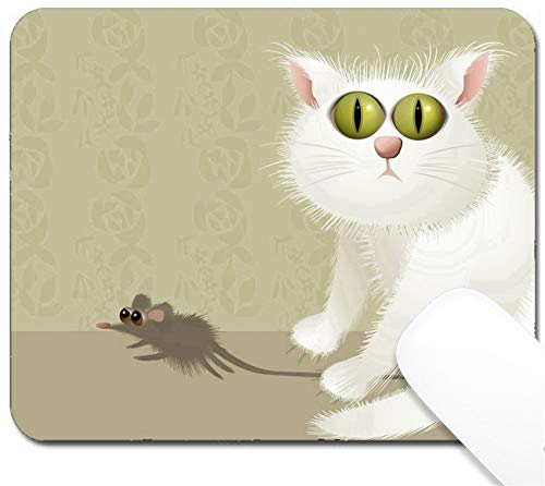 MSD Mouse Pad with Design - Non-Slip Gaming Mouse Pad - Image ID 36771618 Cat Hunter