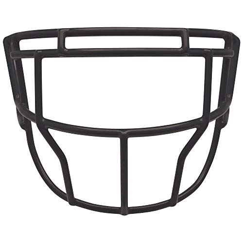 (Schutt Sports EGOP XL Super Pro Carbon Steel Football Faceguard, Black)