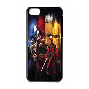 Printed Quotes Phone Case Deadpool Marvel For iPhone 5C Q5A2113213