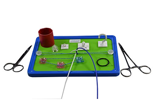 Suture Knot Trainer - Surgical Knot Tying Practice Board Made in UK New Release - Limited Edition - Advanced (Knot Board)