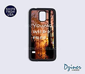 Galaxy Note 2 Case - Young Wild Free Quote