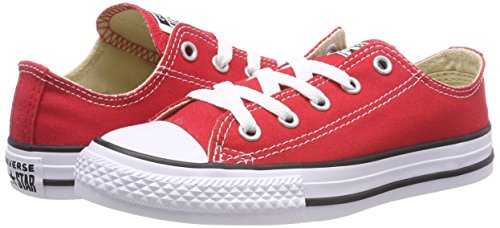 Taylor Converse Sneaker Chuck Ox Core Red Kids' Star All 4wfawEx6