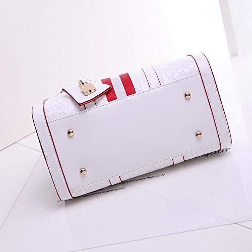 Gelaiken Laptops Bags Fashion Handbag, Ladies Leisure Single Shoulder Oblique Span Package, Size 31.5cmx18cmx23cm Padded Computer Bag Large Briefcase for Work by Gelaiken (Image #2)