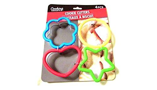 4 flower cookie cutter - 7