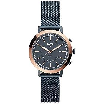 Amazon.com: Fossil Q Reloj inteligente híbrido de cuarzo ...