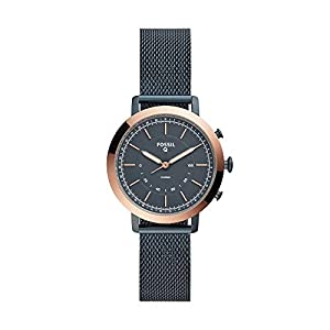 Fossil Women's Neely Stainless Steel Hybrid Smartwatch with Activity Tracking and Smartphone Notifications