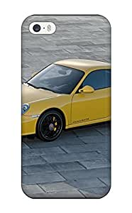 Cute Tpu AnnaSanders Yellow Porsche Carrera 4 Gts Cars Porsche Case Cover For Iphone 5/5s