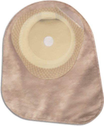 Hollister Premier One-Piece Closed-End Pouch with Integrated AF300 Filter, Cut-to-fit Flat SoftFlex Skin Barrier and Two Sided ComfortWear Panel 5/8