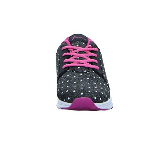 Sneakers BOK10108 Mädchen Schnürhalbschuh Grau (Grau)
