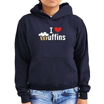 I love muffins 1 Women Hoodie