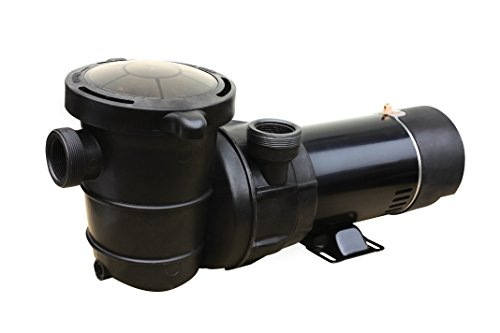 o II above Ground Pool Pump 2-Speed, 5280-2400 GPH/1/0.39HP, Black (2 Speed Swimming Pool Pump)