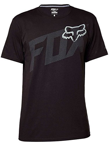Fox Racing Mens Condensed Tech Short-Sleeve Shirt Large Black (Fox Racing Clothing For Men compare prices)