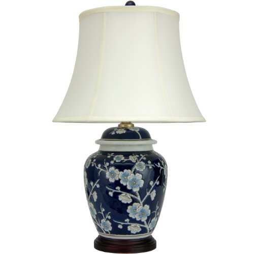Cherry Blossom Floral Porcelain - Oriental Furniture 22