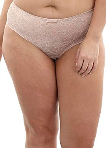 Sculptresse by Panache Women's Pure Lace Brief Panty, Nude, 26