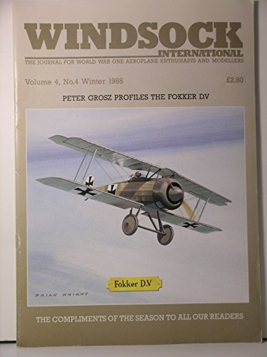 (Windsock International The Journal For WW II Enthusiasts & Modellers Vol. 4 No. 4)