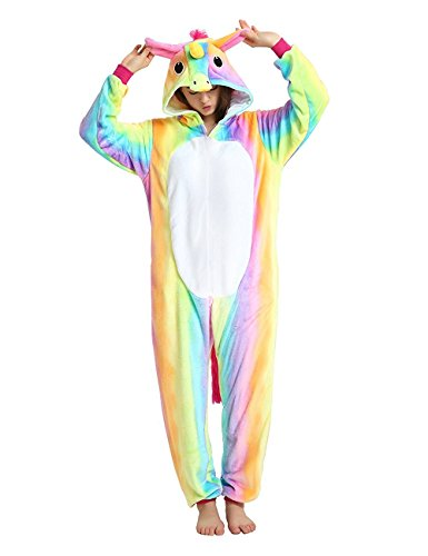 Licorne Unisex Adult Pajamas, Nousion Cosplay Christmas Unicorn