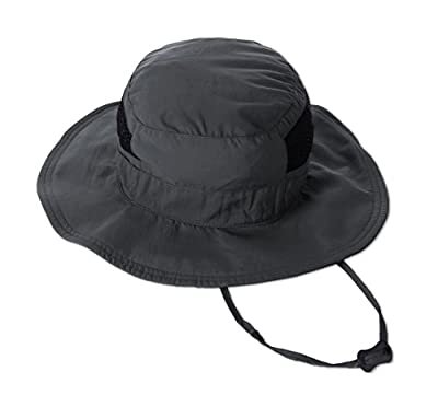 Outdoor Boonie Sun Hat - UPF 50 Protection for Men & Women. Wide Brim Summer Hat. Waterproof for Fishing, Hiking, Camping, Boating & Outdoor Adventures. Breathable Polyester & Mesh