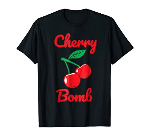 Cherry Bomb Retro Vintage Old Style T-Shirt