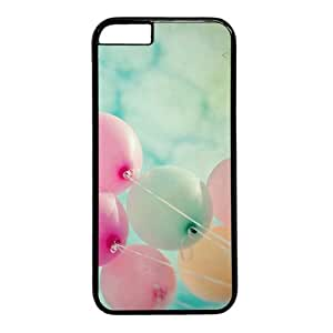"""Colorful Balloons Theme Case for iPhone 6(4.7"""") PC Material Black"""