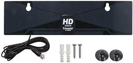 Trisonic TS-1599DTV Razor Antena de televisión Digital de Alta definición para Interiores