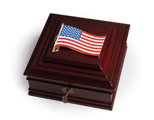 Allied Frame Patriotic Executive Desktop Box