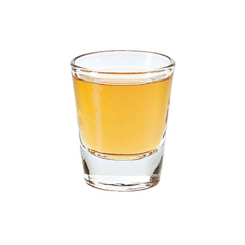 Libbey 5120 Whiskey Service 1.5 Ounce Lined Glass - 72 / CS by Libbey
