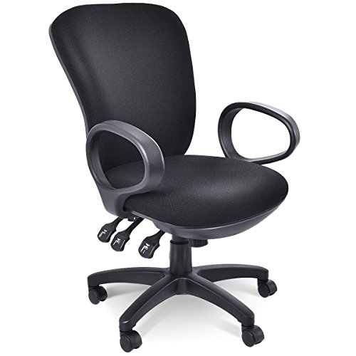 Svitlife Mordern Mid-Back Executive Computer Desk Chair Computer Office Ergonomic by Svitlife
