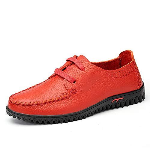 Zapatos Gamuza Gran De Solos Ocasionales Cuero Tamaño Los Yxlong Respirables Hombres Nuevos Burgundy Zw1qB4