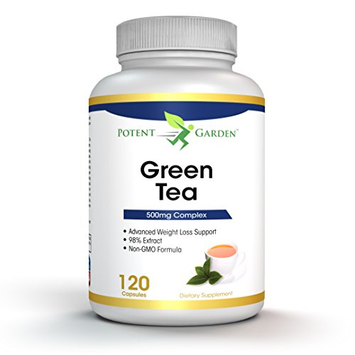 Green Tea Extract Supplement | Maximum Potency Green Tea Extract Supplement with EGCG for Weight Loss, Catechins, Polyphenols | Boost Metabolism | Antioxidant & Free Radical Scavenger - 120 - What Is Esmeralda