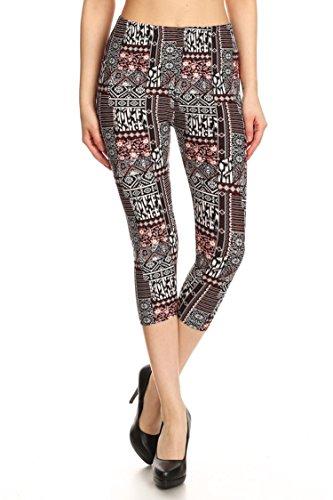 Tribal Printed Shorts (Black) - 9