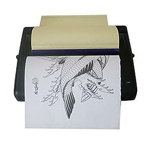 Amazon.com: zinnor Copiadora de transferencia de tatuaje ...