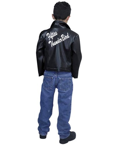 Thunderbird Jacket - Child Large Greaser Costume (Fifties Thunderbird Jacket Child Costume)