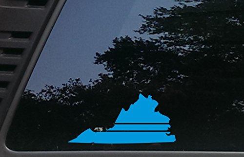 Virginia Thin Blue Line - 7 1/2