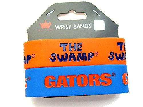 Gators Rubber Florida (Florida Gators Rubber Wrist Band Set)