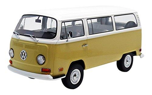 Volkswagen Type 2 Bus - 1971 Volkswagen Type 2 Bus (T2B) Yellow 1/18 by Greenlight 19012