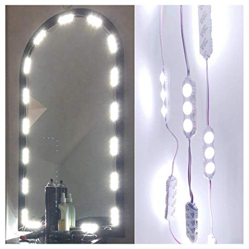 60 Leds 9.8 FT Make-up Vanity Mirror Light DIY Light Kits for -