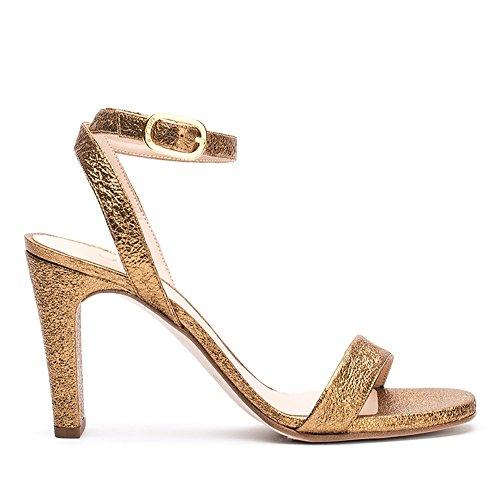 Unisa Gold Sandali 40 se Donna Saino rBrfnIx