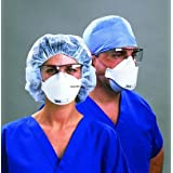 Box of 20 N95 Health Care Particulate Respirator and Surgical Mask Box of 20 3M 1870