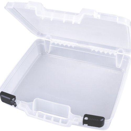 ArtBin Quick View Deep Base Carrying Case- Clear Open Core Storage Container, 6960AB