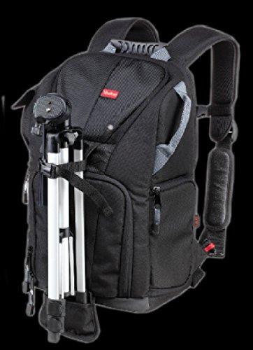 Vivitar DKS-25 Photo/SLR/Laptop Sling Backpack - Large (Black) by Vivitar