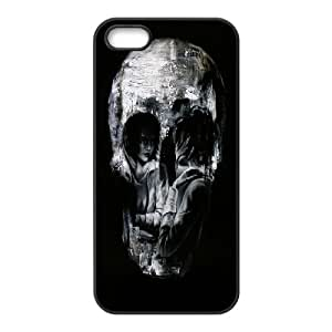 High Quality Phone Case For Apple Iphone 5 5S Cases -skull art pattern protective case-LiuWeiTing Store Case 9